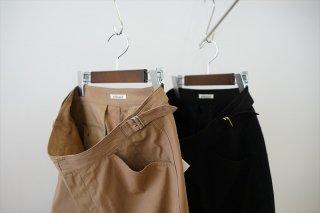 AURALEE(オーラリー)Finx Hard Twist Gabardine Pants/Brown/Black