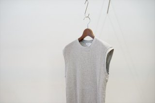 UNUSED(アンユーズド)Thermal No Sleeve Tee/Gray