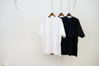 Graphpaper(グラフペーパー)Jersey Oversized SS Pocket Tee/White/Navy/Black/