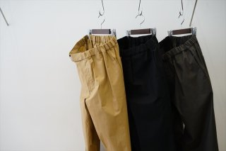 Graphpaper(グラフペーパー)Stretch Type Writer Chef Pants/Beige/Gray/Black/