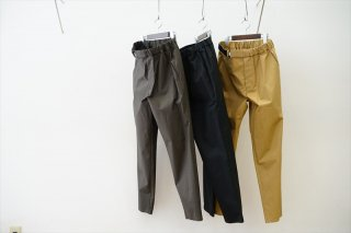 Graphpaper(グラフペーパー)Stretch Typewriter Slim Chef Pants/Beige/Gray/Black/