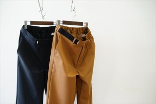 Graphpaper(グラフペーパー)Compact Ponte Slim Chef Pants/Brown/Black