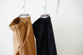 Graphpaper(グラフペーパー)Compact Ponte Chef Pants/Brown/Black