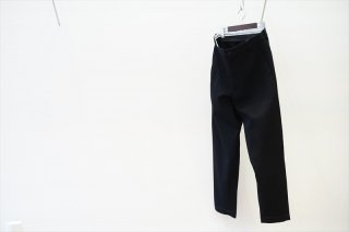 Graphpaper(グラフペーパー)Wool Kersey Wide Tapered Trouser/Black