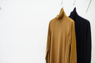 Graphpaper(グラフペーパー)for women High Gauge Turtle Neck Knit Dress