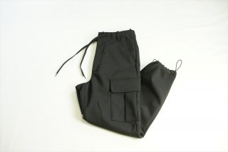 UNIVERSAL PRODUCTS(ユニバーサルプロダクツ)Double Cloth Cargo Pants/Black