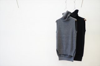 Graphpaper for women(グラフペーパー)High Density Turtle Neck Vest