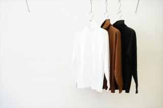 AURALEE(オーラリー) for women LUSTER PLAITING HI NECK L/S TEE