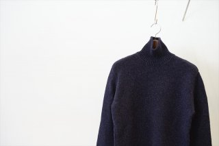 AURALEE(オーラリー)for women CAMEL WOOL MIX KNIT TURTLE NECK P/O/Mix Black