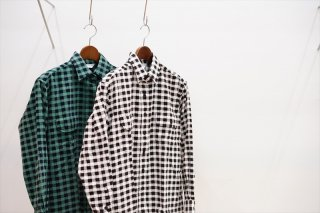 UNUSED for women (アンユーズド)Hound Tooth Corduroy Shirt