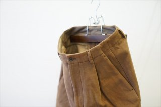Graphpaper(グラフペーパー)Double Cloth Moleskin Trouser/D.Brown