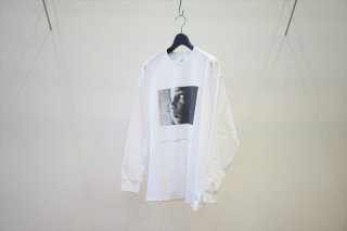 """Graphpaper(グラフペーパー) POET MEETS DUBWISE for GP Jersey L/S Tee """"SUN""""/White"""