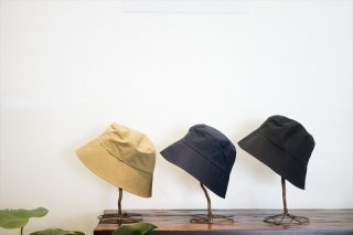 comesandogoes(カムズアンドゴーズ)High Count Rubber Cloth Hat/Beige/Navy/Black/