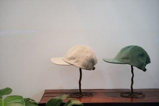UNUSED(アンユーズド)Corduroy Cap/Beige/Light Green/