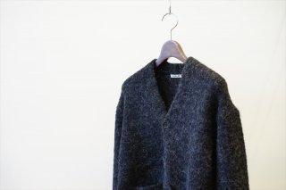 AURALEE(オーラリー)Alpaca Wool Super Light Knit Big Cardigan/Charcoal