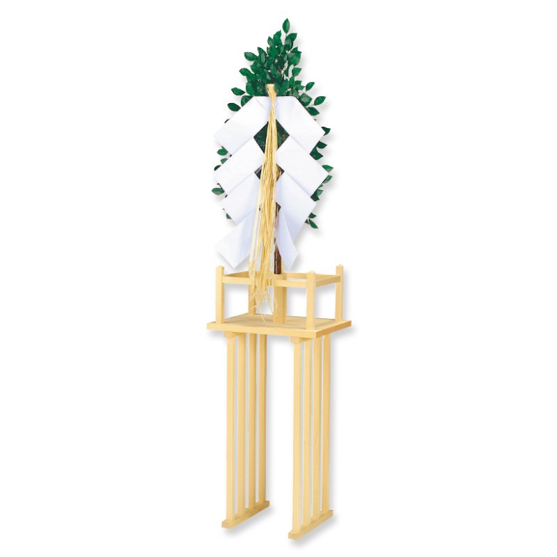 神籬台付案 - 民俗工芸|神棚・装束・神祭具