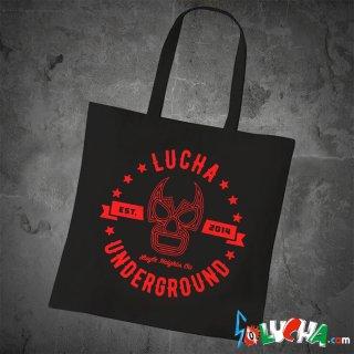 【LUCHA UNDERGROUND】GYM LOGO BLACK トートバッグ
