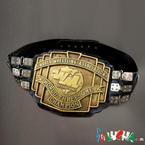 WWA世界トリオタイトル チャンピオンベルト