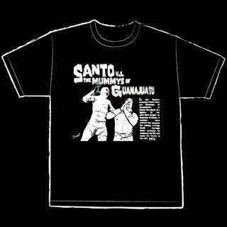 El Santo vs The Mummy T-Shirt / エル・サント vs ザ・マミー Tシャツ