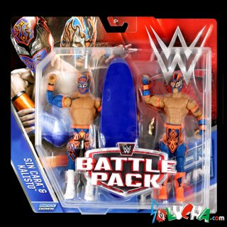 <img class='new_mark_img1' src='https://img.shop-pro.jp/img/new/icons20.gif' style='border:none;display:inline;margin:0px;padding:0px;width:auto;' />LUCHA DRAGONS(シン・カラ&カリスト)フィギュア/WWE MATTEL Battle Packs 42