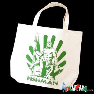 プリントトートバッグ #フィッシュマン / Print Tote bag Fishman