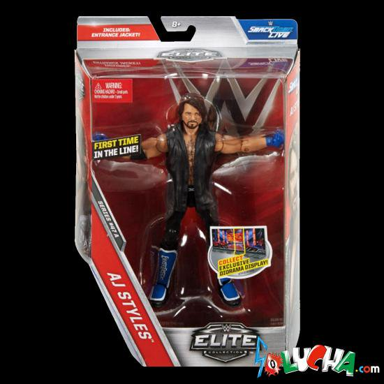 AJ STYLES(AJスタイルズ)フィギュア/WWE MATTEL Elite 47