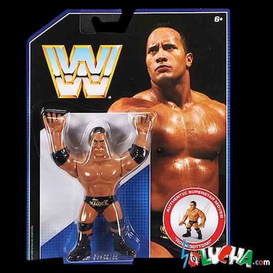 The Rock フィギュア / Mattel WWE Retro シリーズ