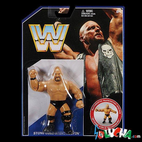 STONE COLD Steve Austin フィギュア / Mattel WWE Retro シリーズ
