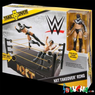 WWE Wrestling NXT TakeOver Exclusive Superstar Ring [Finn Balor フィギュア付]