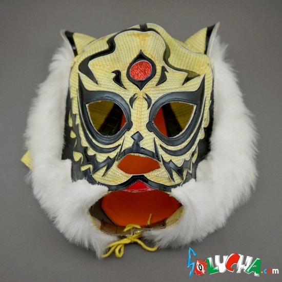 《ビンテージ年代物》 2代目タイガーマスク・プライベートマスク by OJISAN / 豊島製