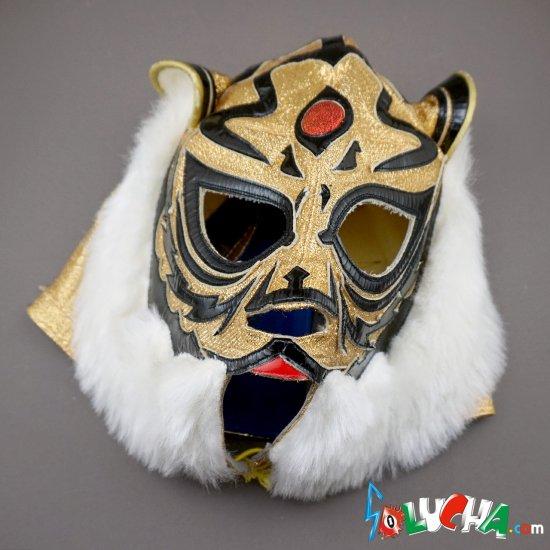 《ビンテージ年代物》 2代目タイガーマスク・試合用マスク by OJISAN / 山崎製