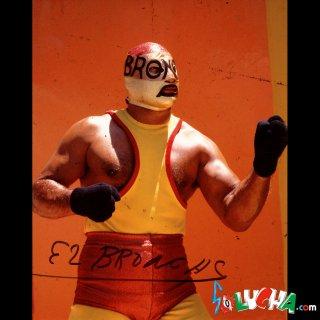 El Broncas Autographed Photo / エル・ブランカス サイン入ブロマイド
