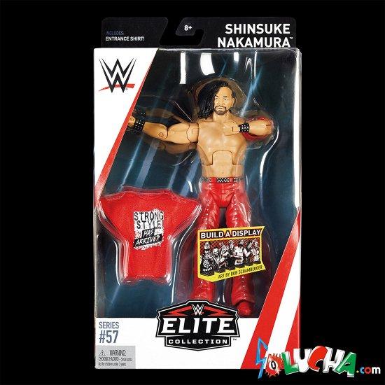 SHINSUKE NAKAMURA フィギュア / WWE MATTEL Elite 57
