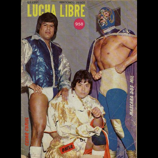 LUCHA LIBLE No.958