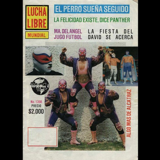 LUCHA LIBLE No.1398