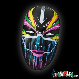【WWE OFFICIAL】ASUKA(アスカ/明日華)THE EMPRESS Black Mask