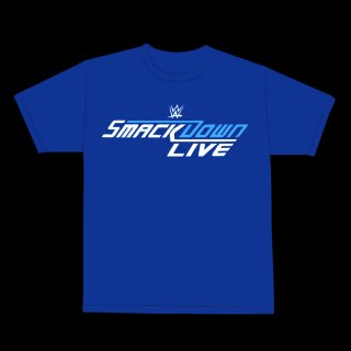 """【WWE Authentic】 WWE """"Team SmackDown Live"""" Tシャツ"""