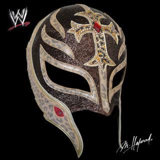 WWE/レイ・ミステリオ マスク -Brown Lame-