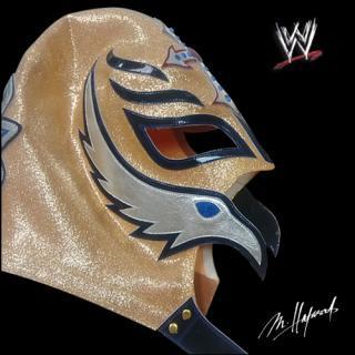 WWE/レイ・ミステリオ マスク -Gold Antique Lame-