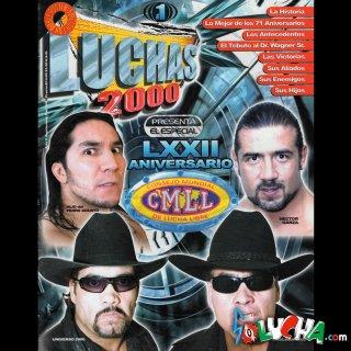 LUCHAS2000 増刊 No.1 (CMLL アニベルサリオ特集)