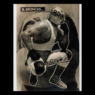 El Broncas Autographed Photo / エル・ブロンカス サイン入ブロマイド