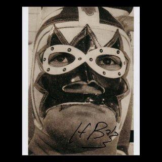 Hombre Bala Autographed Photo#1 / オンブレ・バラ サイン入ブロマイド#1