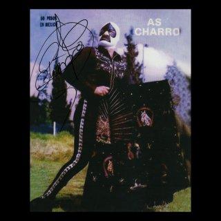 As Charro Autographed Photo#1 / アス・チャロ サイン入ブロマイド#1