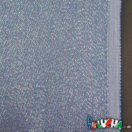エラスラメ生地(パール・水色) 1m / Stretch Lame Pearl Light Blue 1m