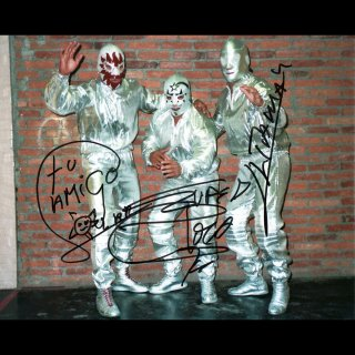 Solar & Super Astro & Ultraman Autographed Photo / ロス・カデテス・デル・エスパシオ サイン入ブロマイド