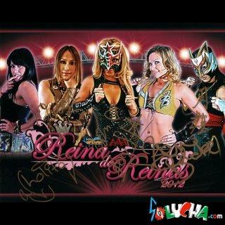 Reina de reinas 2012 / レイナ・デ・レイナス2012 サイン入ブロマイド