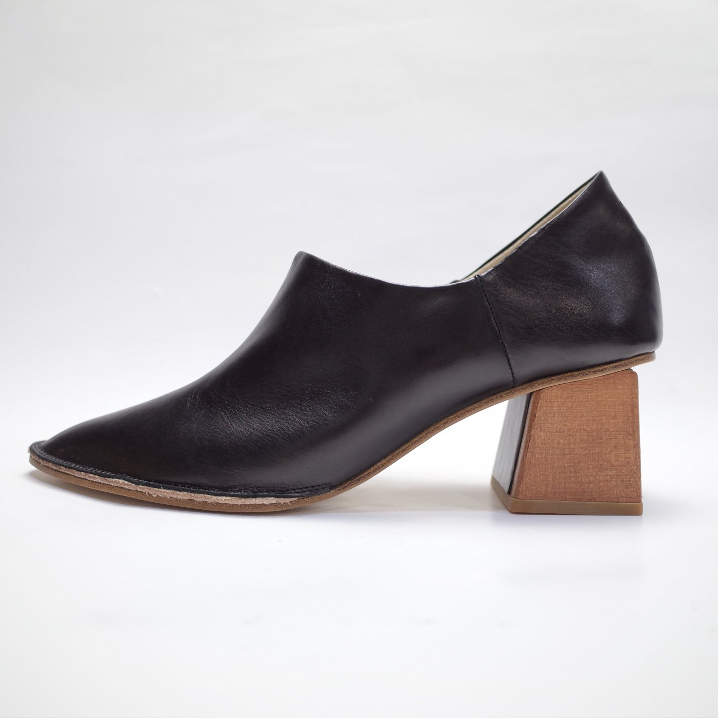 MAISON EUREKA 2018AW-BABOUCHE PUMPS/BLACK-women's