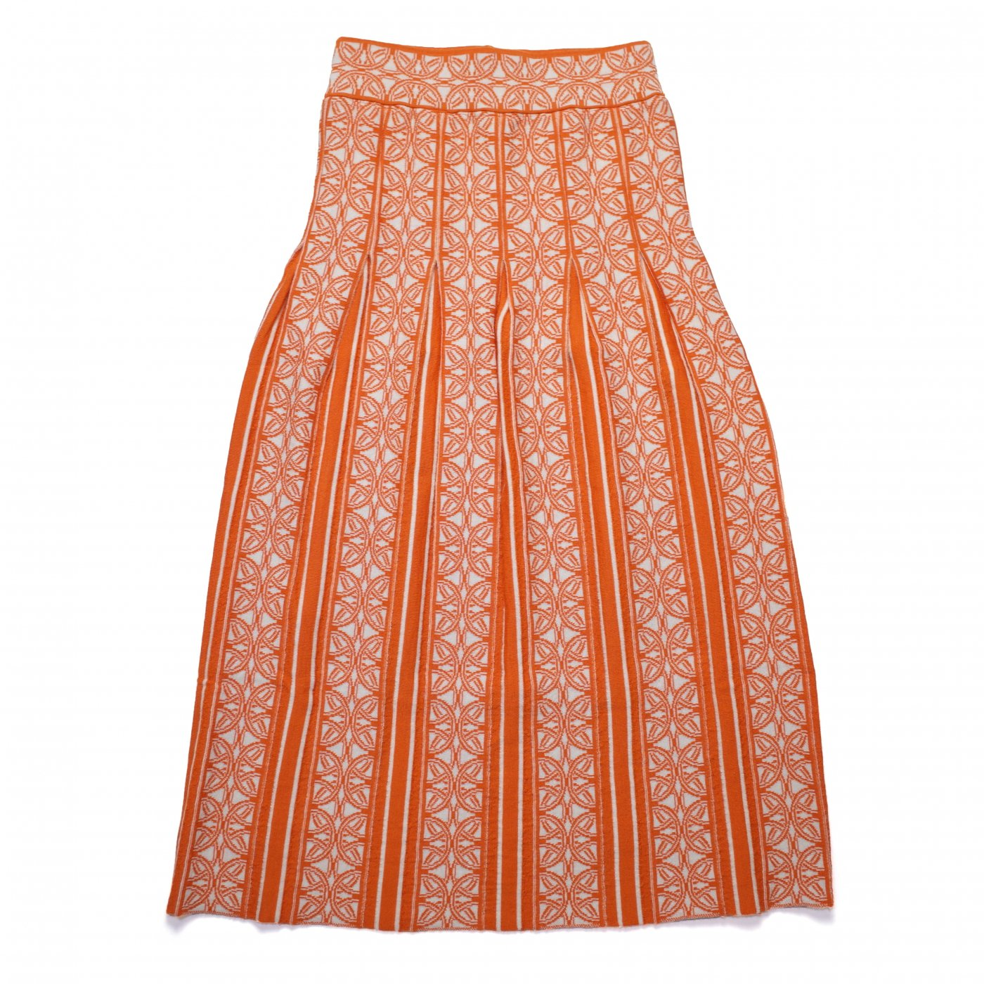 TAN 2018AW -PATTERNED SK/ORANGE-women's