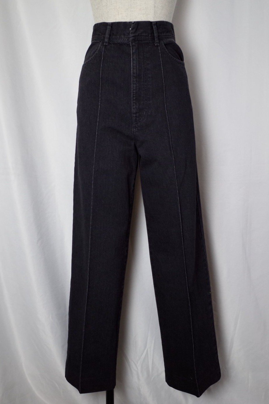 CURRENTAGE-DENIM CENTER  PRESS FLARE PANTS-INDIGO