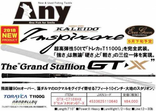 エバーグリーン カレイド インスピラーレGT-X「グランドスタリオンGT-X」GTX-C710XHX